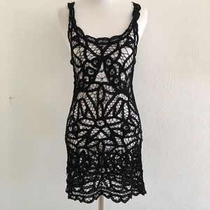New Free People Intimately Lace Tunic Top Size XS